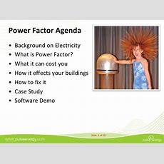 Power Factor What It Is, How To Measure It And How To Improve It To