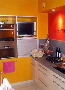 deco cuisine en peinture With peinture cuisine idee deco