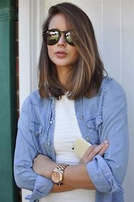 Haircut Long Bob Hair Color