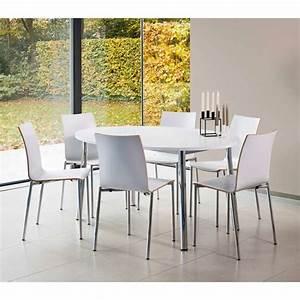 Table De Cuisine Ovale : table de cuisine ovale en stratifi elli 4 ~ Teatrodelosmanantiales.com Idées de Décoration