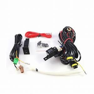 2007-2012 Mitsubishi Lancer Fog Lights Wiring Kit Included
