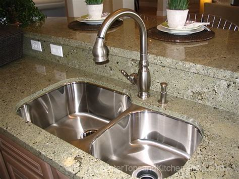 how to install undermount kitchen sink to granite i like the undermount stainless double kitchen sink