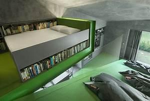Aménagement Petite Chambre : comment bien choisir un meuble gain de place en 50 photos ~ Melissatoandfro.com Idées de Décoration