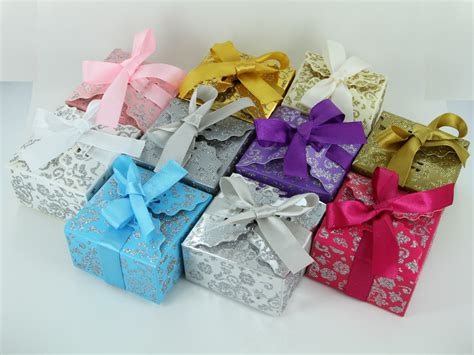 Build your own · gifts with attitude · custom gifts she'll love 100 Small Ribbon Wedding Favor Gift Boxes Baby Shower ...