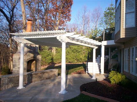 pergolas for patios st louis decks screened porches