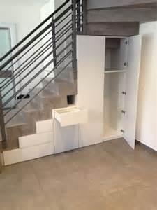 meuble de rangement sous escalier la valentine 13011