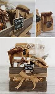 DIY Hamper: A Coffee Lovers Wooden Crate