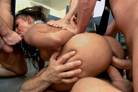 Sadie Santana Takes On Big Shafts In A Gangbang 3 Of 3