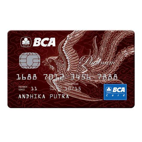 bca pilihan kartu kredit bca
