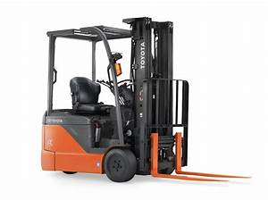 Electric 8fbe   3 Wheeler Forklift