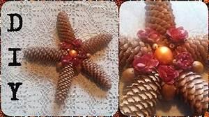 Basteln Im Advent : stern tischdeko aus tannenzapfen basteln diy f r weihnachten advent julebuergerfee youtube ~ A.2002-acura-tl-radio.info Haus und Dekorationen