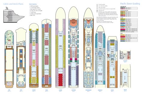 ncl pearl deck plans pdf pacific deck layout