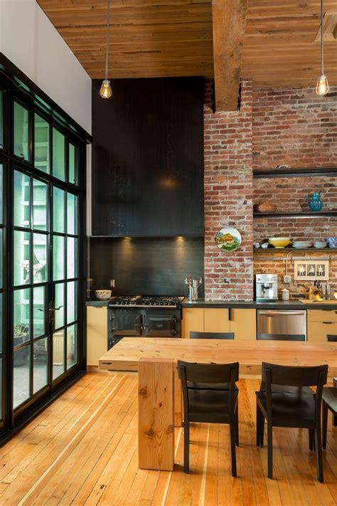 loft kitchen design ideas loft design kitchen industrial with ideas modern 7148