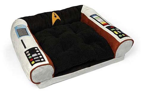 Trek Captains Chair Pet Bed by Trek Captain S Chair Pet Bed Gadgetsin