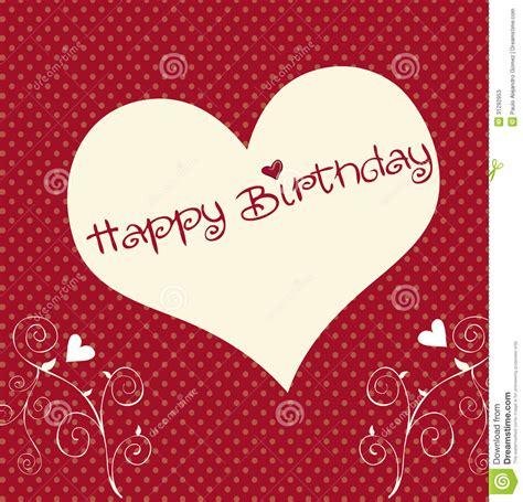 Heart Happy Birthday Stock Photos  Image 31292953