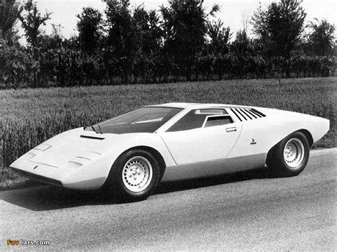Lamborghini Countach LP500 Prototype 1971 wallpapers (800x600)