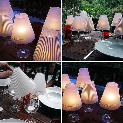 Tealight Lamp by Wonderful Diy Fancy Wine Glass Candle Lampshades