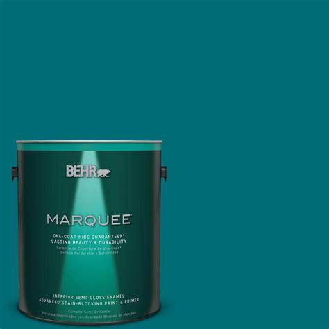 behr marquee 1 gal mq6 35 teal motif one coat hide semi