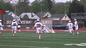 Dickinson Men's Lacrosse Highlights vs. Muhlenberg - YouTube