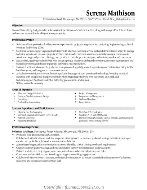 Project Manager Resume Pdf by Modern Project Manager Resume Project Manager