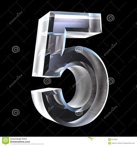 number   glass royalty  stock photo image