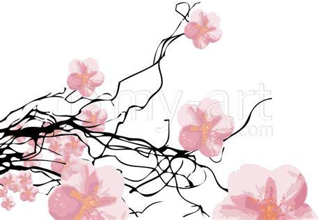caisse d tableau numérique printemps des cerisiers une toile de sys impression sur dibond verre