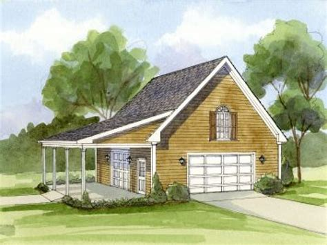 Garage Plans With Porch by Simple Carport Plans Garage With Carport Plans House Plan