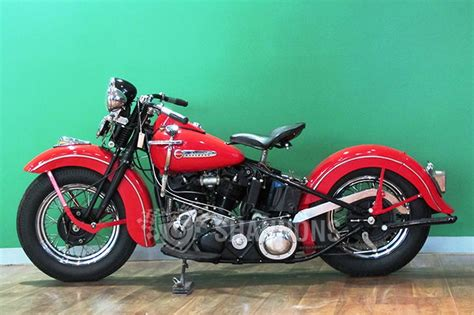 Harley Davidson 'knucklehead' Motorcycle Auctions