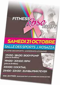fitness rose party04 SO PEP'S salle de sport à Andernos et Mios