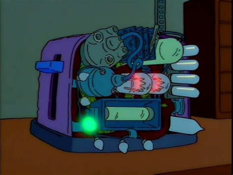 Simpsons Toaster - top 10 engineering moments of the simpsons gt engineering
