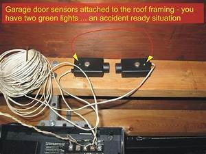 Wiring Diagram Database  Liftmaster Garage Door Sensor
