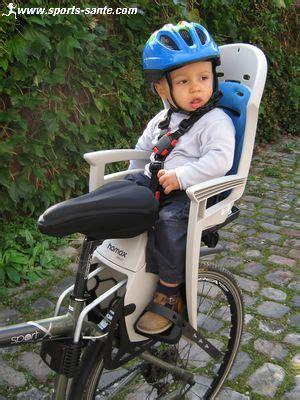 siege bebe velo suspendu porte bébé pour vélo le vélo en image