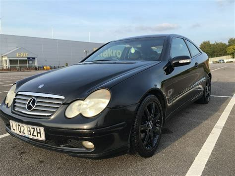 Ultra Economical Muncher Mercedes W203 Sport Coupe C220 Cdi 2002 Manual 6speed In