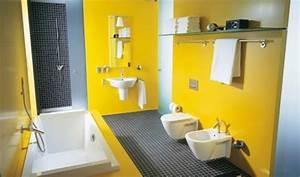salle de bain 2014 prixsalledebainco With salle de bains coloree