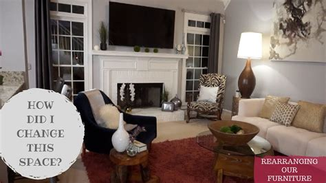 rearranging furniture   room  bigger