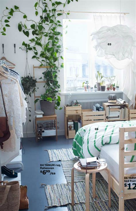 Bedroom Inspiration Plants by Ikea House Mix