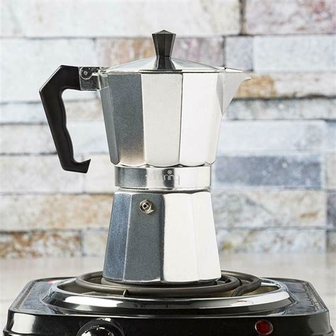 Yes, they've been around for that long. Primula Coffee Espresso Maker Aluminum Stovetop Moka Moch