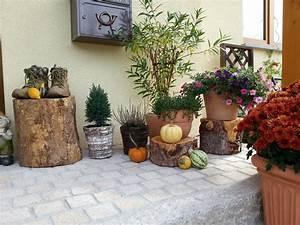 Herbstdeko Ideen Kreativ Bunt Den Garten Dekorieren