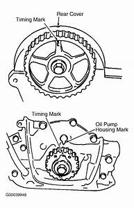 I Need A Diagram  Picture  Of Timing Marks For A 1993 Geo Metro