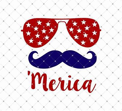 Svg 4th July Merica Cut Cricut Vinyl