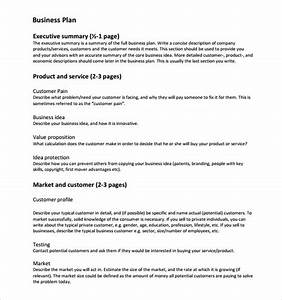 business plan templates 6 download free documents in With free business plans templates downloads