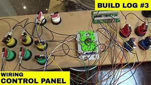 Ladcade - Us 200 Diy Full Size Budget Aracade Machine  Control Panel Wiring  Build Log  3