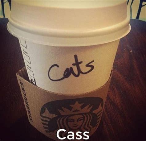 starbucks  coffee spelling  names