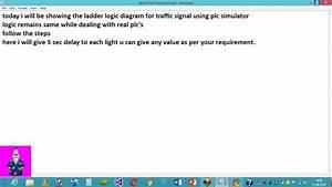 Plc Ladder Logic Diagram For Traffic Signal