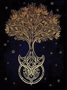 Baum Tattoo Bedeutung : bedeutung keltischer lebensbaum baum des lebens yggdrasil blumen zeichnen pinterest ~ Frokenaadalensverden.com Haus und Dekorationen