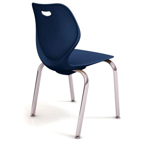 ki intellect wave 4 leg stack chair 18 quot h iw418