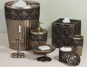 Jar, Marrakesh, Bath, Accessories, By, Croscill, 3d
