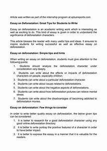 essay about deforestation calaméo essay on deforestation great tips for students