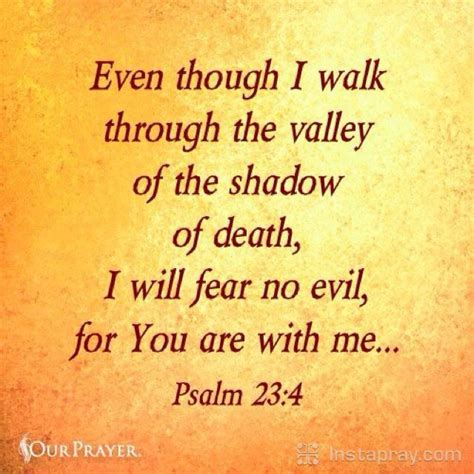 as i walk through the valley of the shadow of prayer