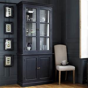 Buffet Vaisselier Pas Cher : buffet noir pas cher maison design ~ Melissatoandfro.com Idées de Décoration